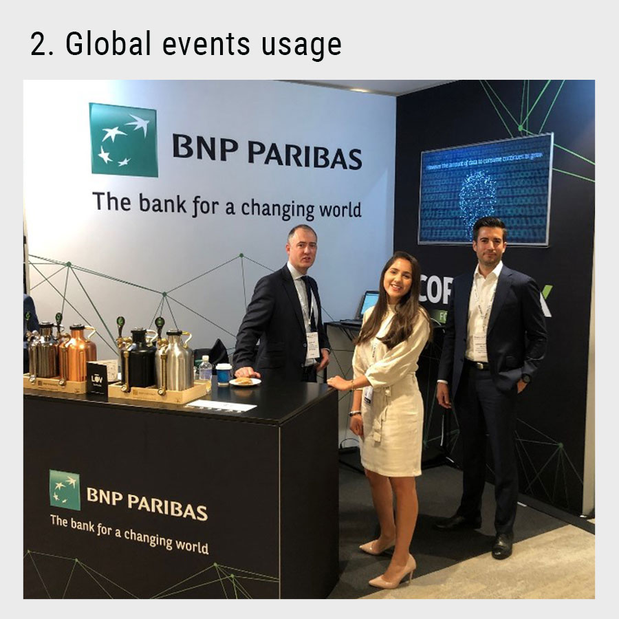 animation for the bnp paribas event
